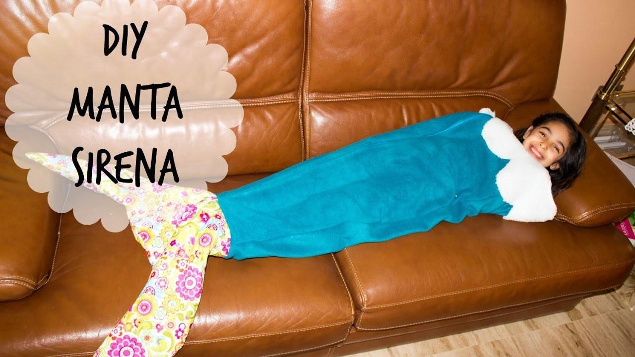 DIY - Manta Sirena | Mermaid Blanket + Premios Vlogger