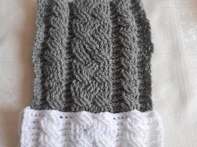 Trenzas en crochet punto fantasía parte 1 de 2