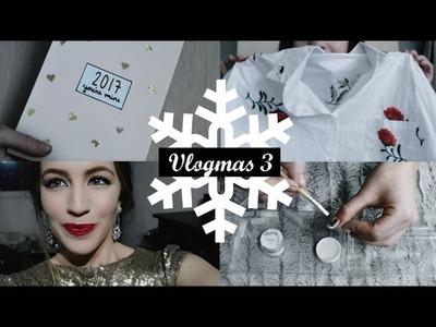 Agenda DIY, uñas acrílicas, unboxing y haul de maquillaje | Vlogmas 3