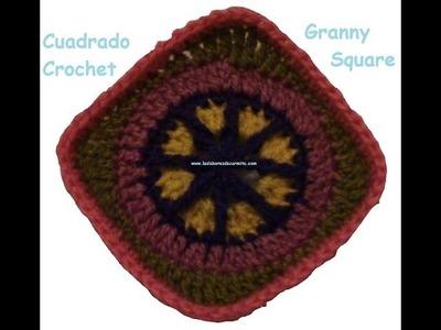 Crochet cuadrado de la abuelita nº9 granny square
