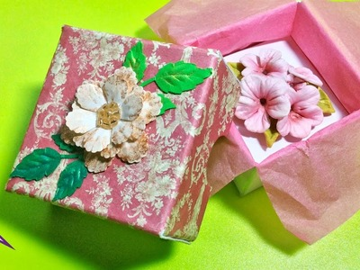 DIY Cajita-regalo para bisutería