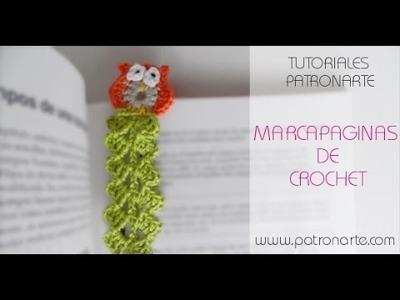 Paso a paso Marcapaginas de Crochet