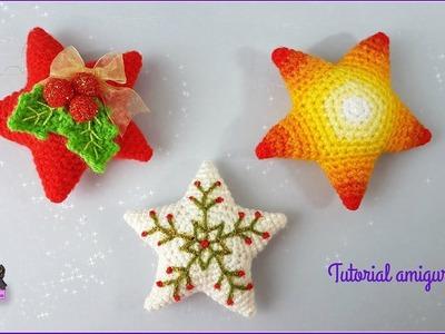 Tutorial amigurumi - Estrella. Star