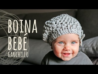Tutorial Boina Fácil Bebé Ganchillo | Crochet