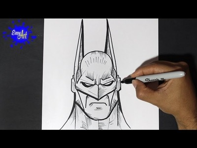 Como Dibujar a Batman 2 - How to Draw Batman