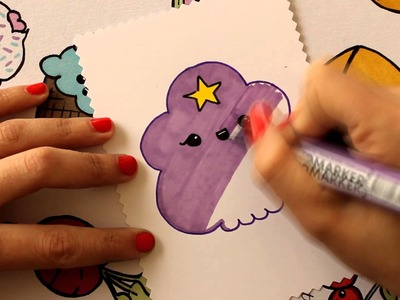 Cómo dibujar a la Princesa Bultos. How to draw a Lumpy Space Princess (Hora de Aventura)