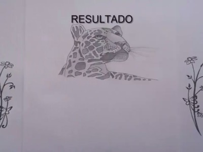 Como dibujar un leopardo | How to draw a leopard