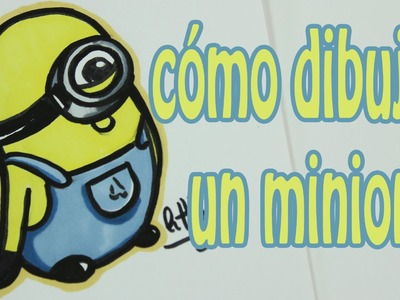 Como dibujar un minion - How to draw a minion