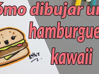 Cómo dibujar una hamburguesa
