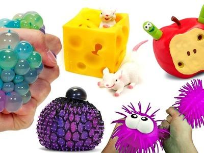 Cortando y abriendo pelotas antiestrés y squishy - Qué Hay Dentro? #4