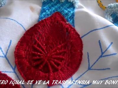 PASO A PASO PUNTADA EN NOCHE BUENA