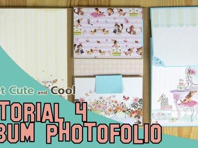 Album de scrapbooking Photofolio tutorial 4