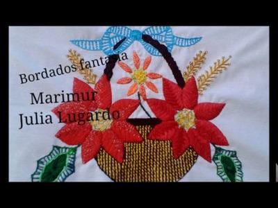 BORDADO FANTASIA  grupo facebook alumnas de marimur  NAVIDAD 2016