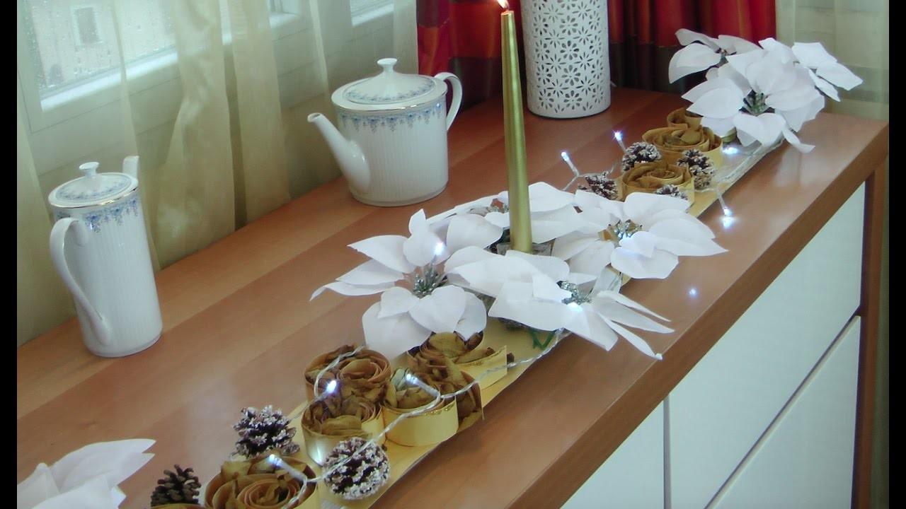 Como decorar el comedor para navidad con arreglo floral decorate the dining room for christmas - Decorar el comedor ...