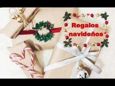 Cómo envolver regalos de navidad de forma original | Iammisscafeina