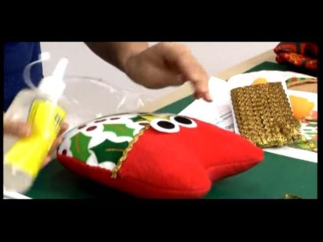 Como hacer Buhos navideños. 3.5