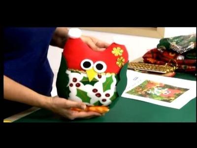 Como hacer Buhos navideños. 5.5