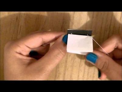 Como hacer un Mini Libro