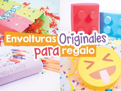 IDEAS DIVERTIDAS PARA ENVOLVER TUS REGALOS ✎Craftingeek