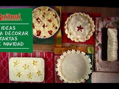 Ideas para decorar tartas Navidad - Buitoni