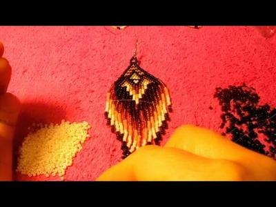 Peyote stitch los aretes son bellisimos que no ojala les gusten a ustedes #2