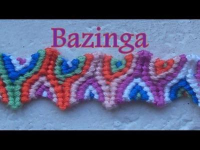 Pulsera de Hilo: Bazinga