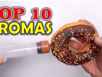 TOP 10 BROMAS - Bromas para hacer a tus amigos (Recopilación 2016)