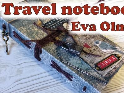 Tutorial Travel notebook, en colaboración con La tienda de las manualidades, día 3