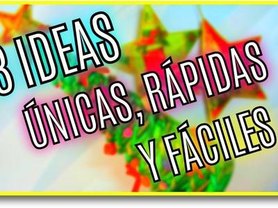 3 IDEAS ÚNICAS DE ÁRBOLES DE NAVIDAD | Pablo Inventos