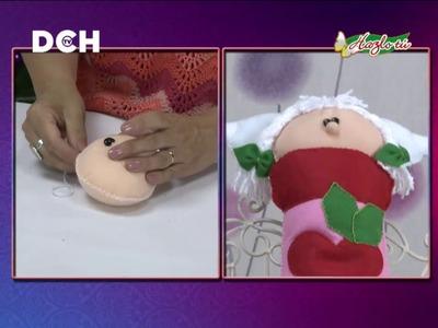 Bota Navideña con Ángel - Yasna Pino - Casa Puchinni
