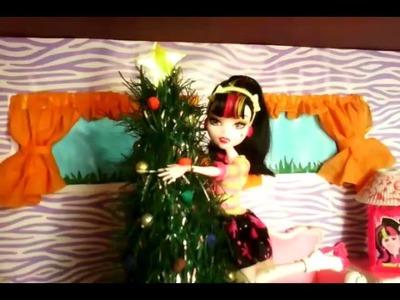 Cómo hacer un árbol de navidad para muñecas