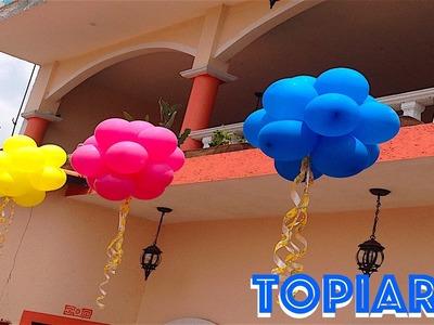 Como hacer una topiaria de globos de la manera correcta# 39