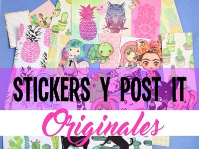 Crea tus propios stickers.pegatinas ♡ DIY ❀ Back to school-Regreso a clases  || Likesely