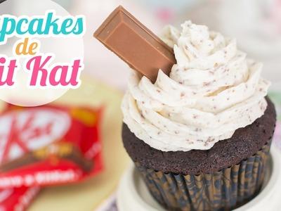 Cupcakes de Kit Kat   Quiero Cupcakes!