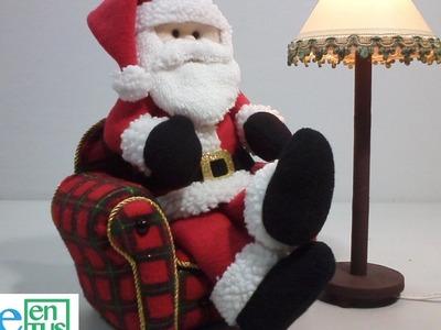 Lampara Para Santa Claus, Paso a Paso