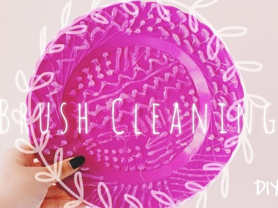 Limpia brochas casero  ♥ DIY BRUSH CLEANING  | AnaMelo