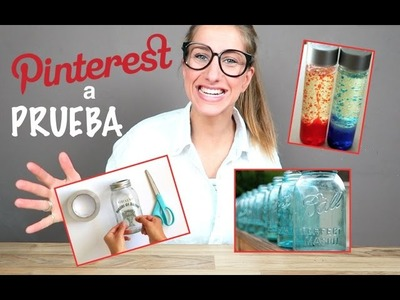 PINTEREST A PRUEBA | 3 TUTORIALES DIY !