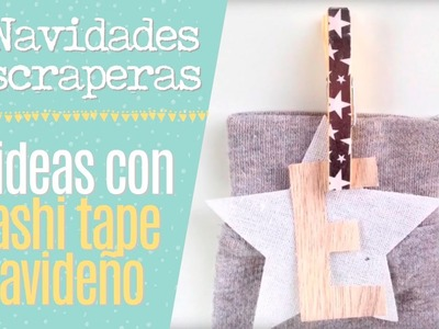 10 ideas con washi tape navideño - Episodio 10