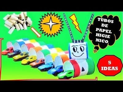 5 cosas increíbles pueden hacerse usando rollos de papel higienico