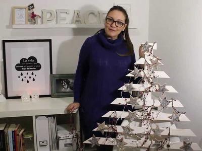 BohoDecoChic - DIY Árbol de Navidad de Madera. Tree Wood Christmas DIY