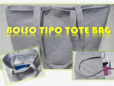 Bolso TIPO Tote Bag ❤❤  Reutiliza!!