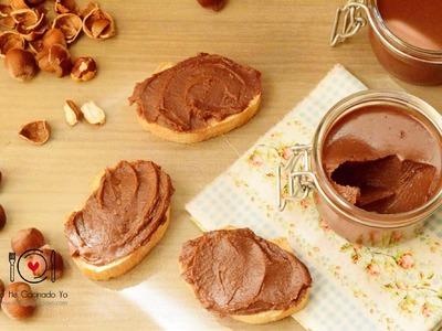 Cómo hacer Crema de Cacao con Avellanas | LHCY