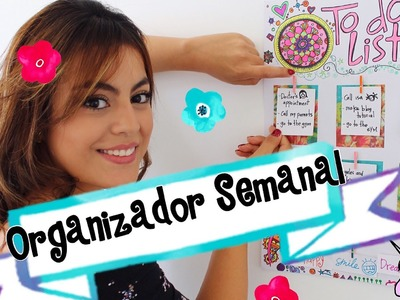 Como hacer un planeador semanal - Mayra Alejandra