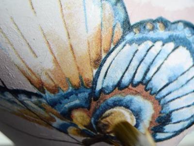 Tutorial Decoupage: trucos para decorar con servilletas