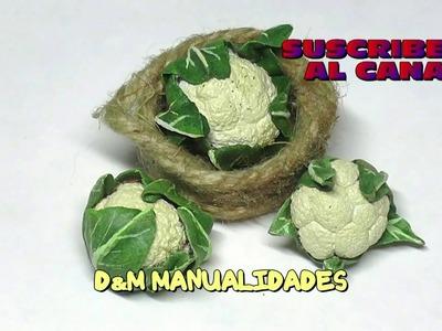 Coliflores en miniatura