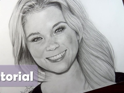 Cómo dibujar un rostro PASO A PASO - FÁCIL | Cómo dibujar a Lele (LENAY)