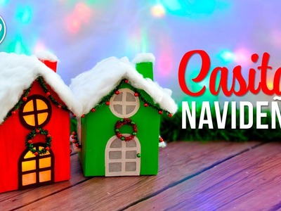 DIY Casitas navideñas | DREEN