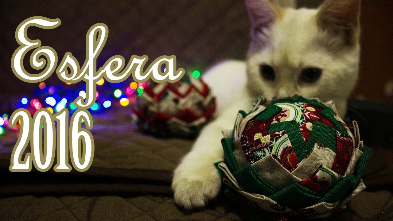DIY: Esfera Navideña 2016 | Esferas de Tela | Fácil y Barato