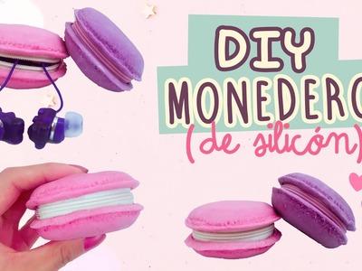 DIY MACARRONES| MONEDEROS DE SILICÓN | Con Catwalk & Así O Más Fácil | COOKIES IN THE SKY