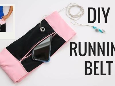 DIY RUNNING BELT | Cómo hacer cinturón running fácil.